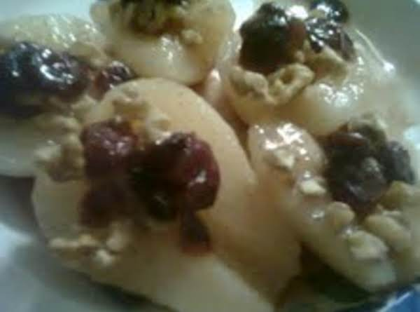 Fruit & Spiced Pear Halves Recipe