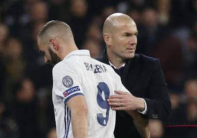 """Zidane encense Benzema: """"Ce qu'il réussit est impressionnant"""""""