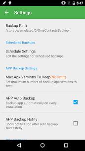 Super Backup Pro: SMS y Contactos 3