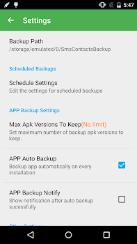 Super Backup Pro: SMSandContacts