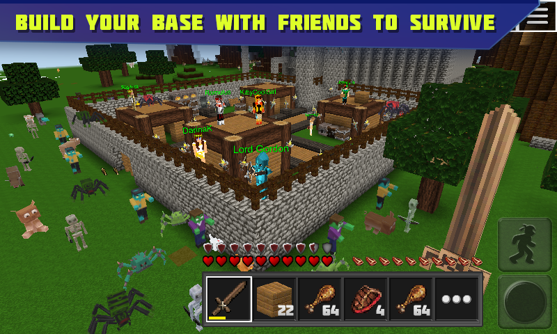 Planet of Cubes Survival Craft- screenshot