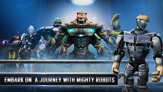 Real Steel HD 1.48.03 APK + Mod + Data for android 4