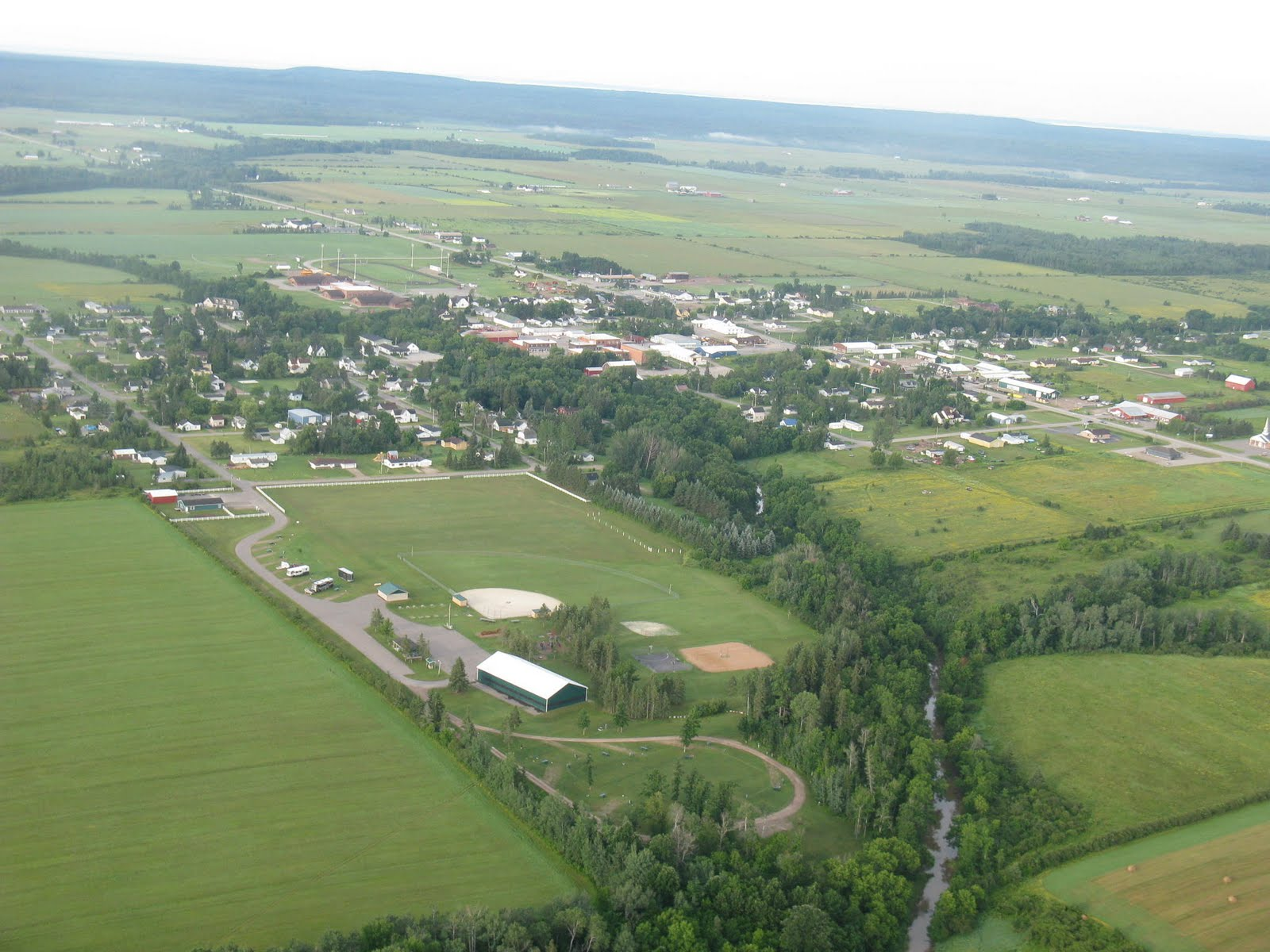 Photo: Pickford Michigan is 25 miles south of Saulk St Marie