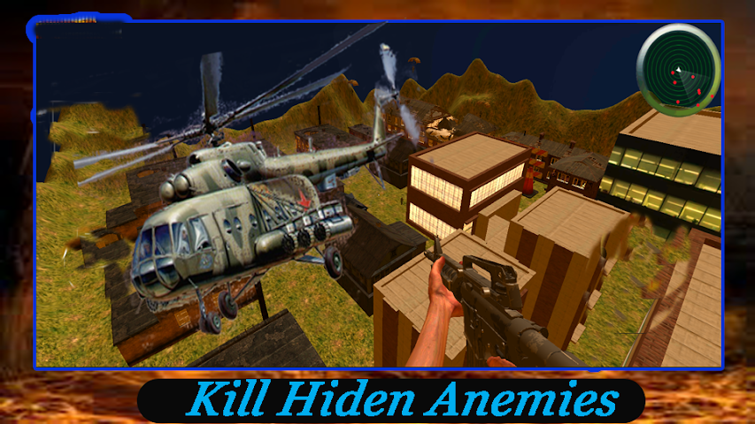 android Dragon Commando Helicopter War Screenshot 1