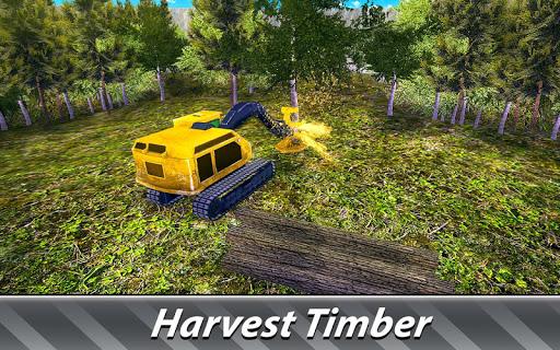 Logging Harvester Truck 1.4 screenshots 3