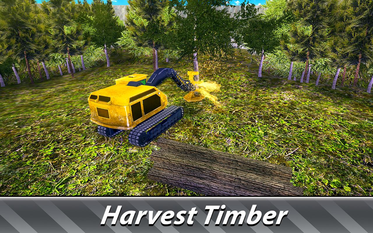 Logging Harvester Truck- screenshot
