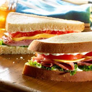 Ham & Cheese Sandwich.