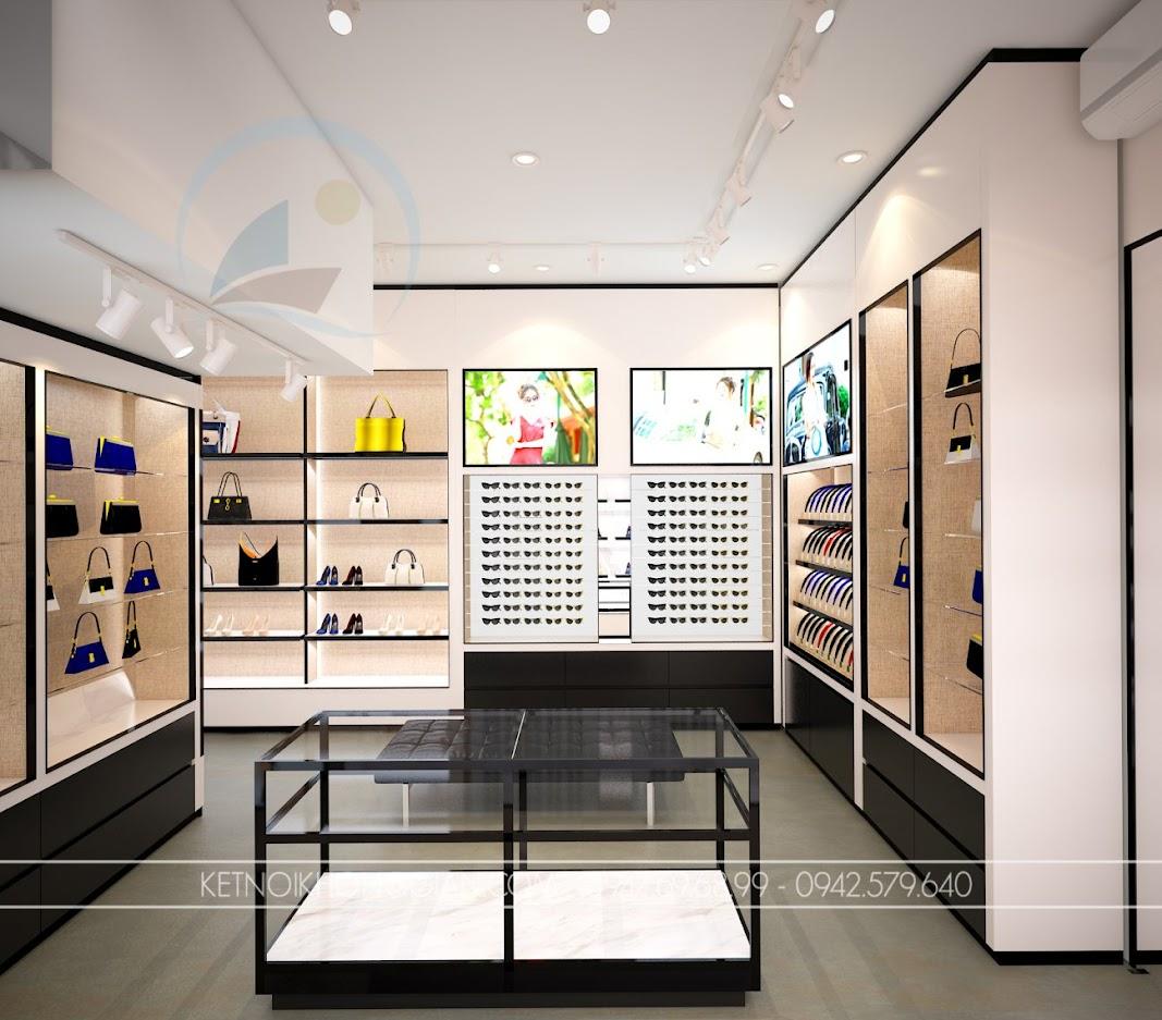 thiết kế shop túi xách trung hòa 10