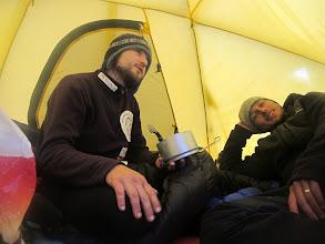 Photo: Grzejemy namiot ...