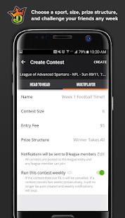 DraftKings - Daily Fantasy Sports- screenshot thumbnail