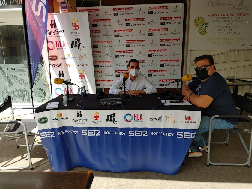 Radio y feria con la SER en el centro de Almería