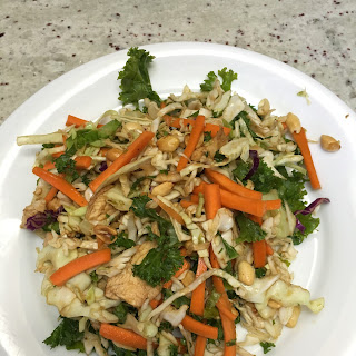Copycat La Bou Asian Salad & Dressing