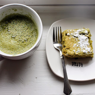 Green Tea Cake with Organic Matcha Green Tea powder