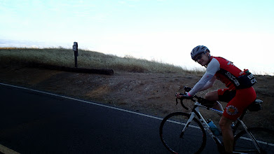 Photo: Carl Sanders on a really nice Trek Madone on Ridgecrest Road, Mt. Tam