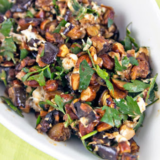 Roasted Eggplant and Smoked Almond Dip