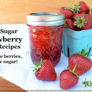 Low Sugar Strawberry Jam.