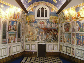 Photo: Giotto's frescoes in Cappella degli Scrovegni - Padua