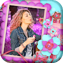Photo Frames For Girls icon