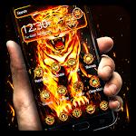 Flaming Tiger Theme Icon