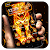 Flaming Tiger Theme file APK for Gaming PC/PS3/PS4 Smart TV