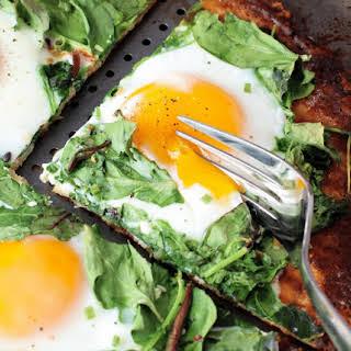 Healthy Breakfast Pizza.