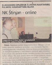 Photo: Glas Istre 19.12.2005. u Pansionu SPort