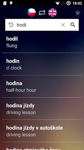 チェコ語英語辞典
