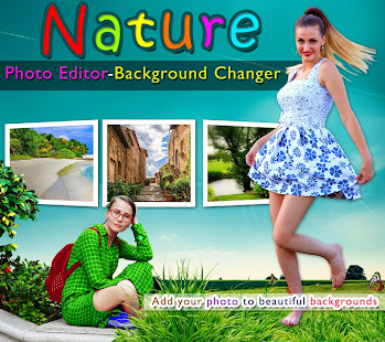Nature photo editor background changer apps on google play - Nature wallpaper editor ...