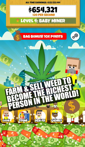 Weed Dealer: Clicker Empire