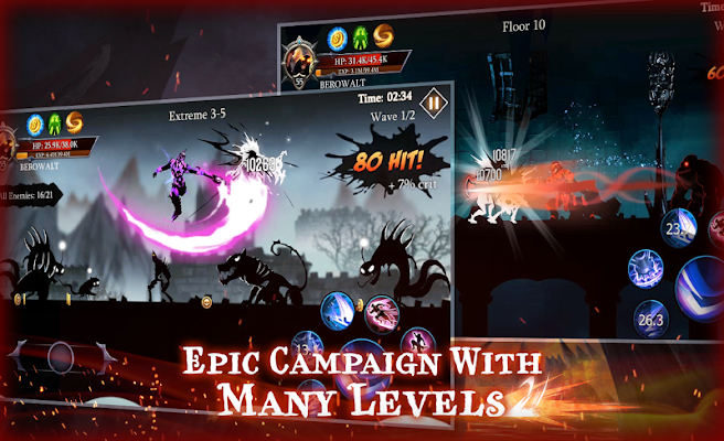 Shadow Fight Heroes Screenshot Image