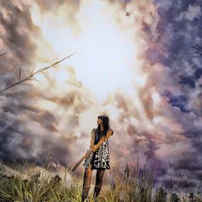 fight with the sun by Grandi Panareka - People Fashion