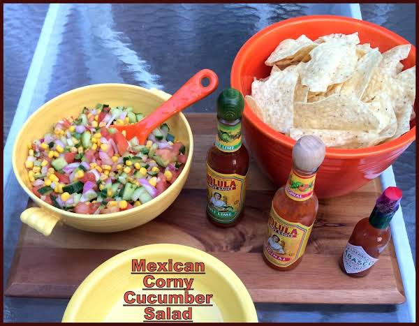 Mexican Corny Cucumber Salad Recipe