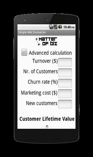 Simple Marketing Evaluator