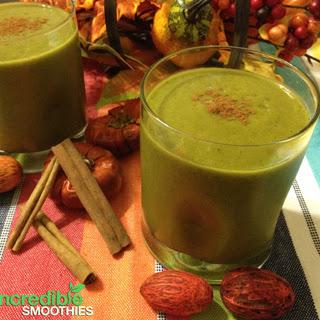 Pumpkin Spiced Latte Green Smoothie