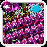 Pink Graffiti Art Keyboard Icon