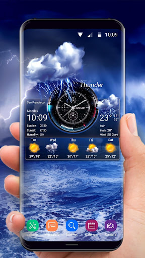 Weather Widget on Home Screen  screenshots 2