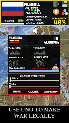 Nation Simulator LITE 1.954 screenshots 2