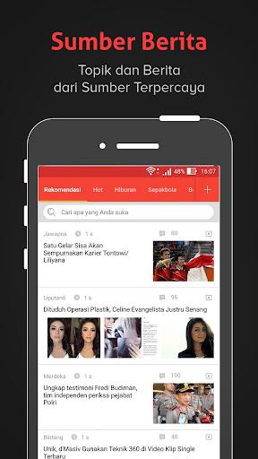Baca- Berita Terbaru, Informasi, Gosip dan Politik 3.1.5.9 screenshots 2