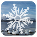 Snowing Snowflakes Wallpaper icon
