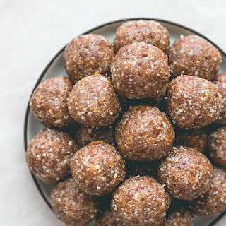 Apricot Brazil Nut Energy Balls + Thoughts on Finding Your Voice and Being True to You.