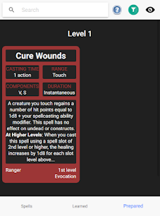 D&D Spell Cards – Free 8