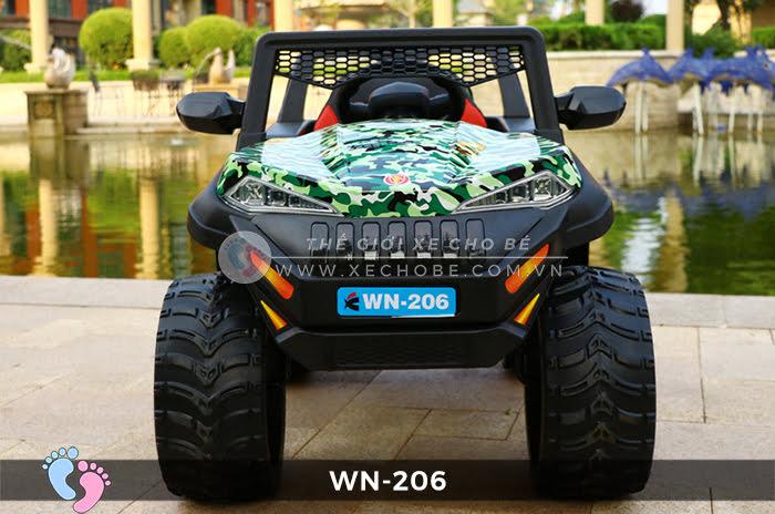 Xe ô tô điện địa hình tự lái WN-206 1