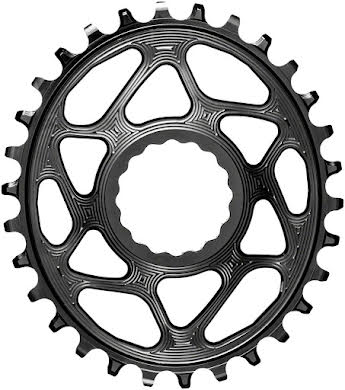 Absolute Black Oval Direct Mount Chainring - CINCH Direct Mount, 3mm Offset, Requires Hyperglide+ Chain alternate image 1