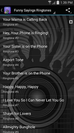 免費下載個人化APP Top Funny Sayings Ringtones app開箱文 APP開箱王