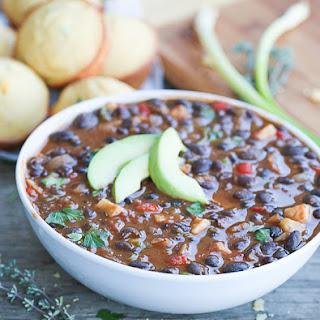 Caribbean Black Bean Soup Recipe
