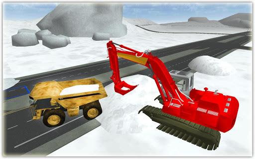 玩模擬App|大雪レスキューショベル3D免費|APP試玩