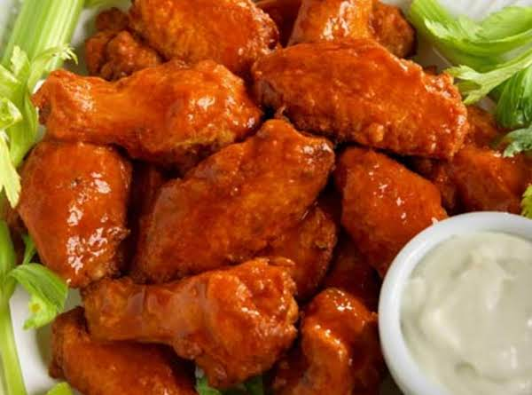 Classic Buffalo Wings With Blue Cheese Dressing Recipe