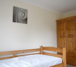 Sunny double room with a bathroom to be shared with only one person