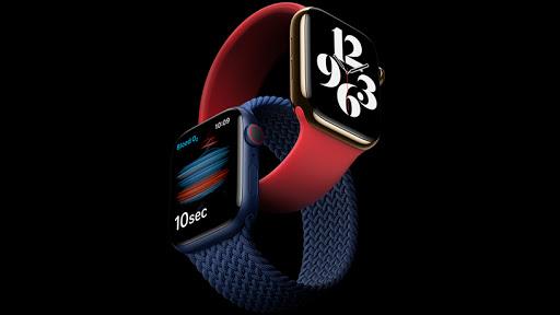 The Apple Watch Series 6 has a blood oxygen sensor.