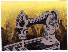 Photo: Wenchkin's Mail Art 366 - Day 198 - Card 198a